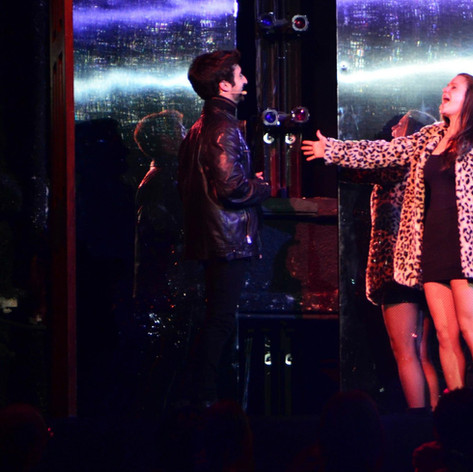 Yasmeen Audi as Mimi in RENT. A.R.T.'s Oberon Theatre. Directed by Anna Kelsey. 2013.