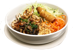 Combo Vermicelli with Egg Roll Added