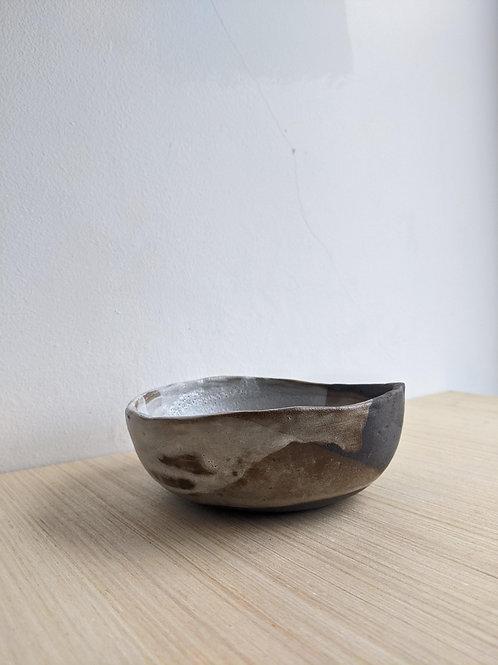 Vulcan Black + White Bowl