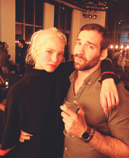"Wrap for ""Anna"" of Luc besson with Sasha Luss. Stunt Coord: Alain Figlarz"