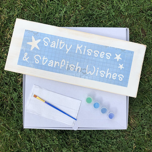 DIY Kit: Salty Kisses Sign