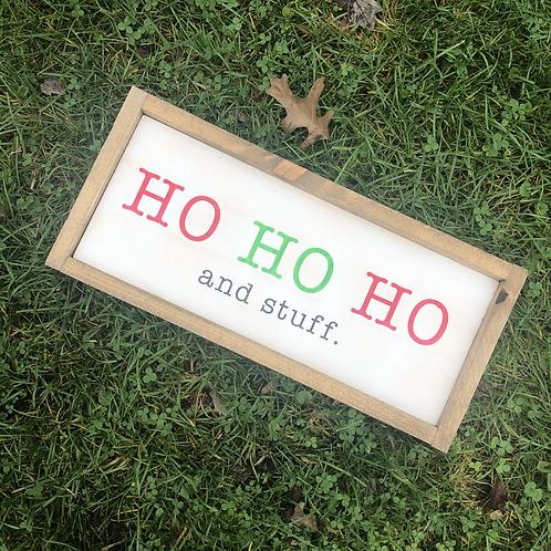 DIY Kit: HO HO HO