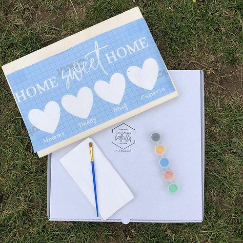 DIY Kit: Home Sweet Home Family