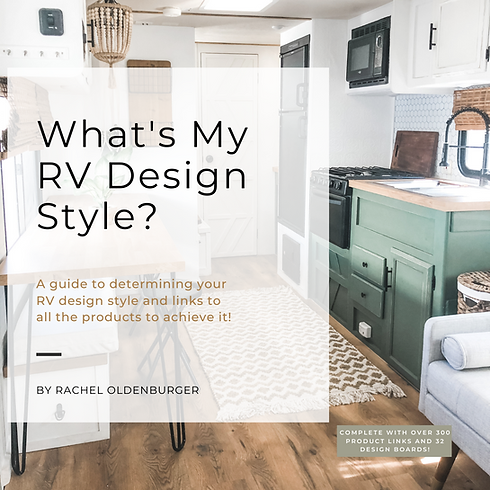 What's My RV Design Style E-Book By Rach