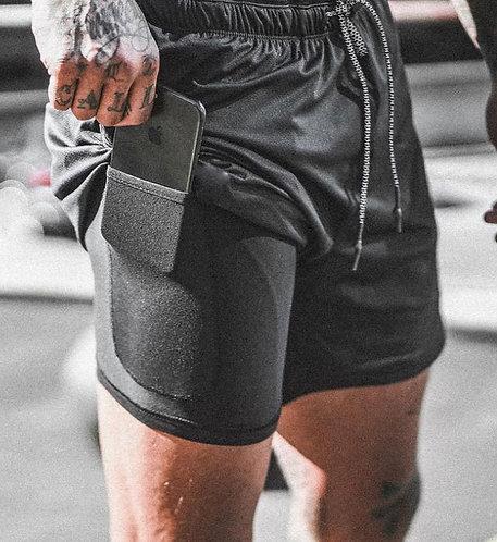 Men's Mesh & Compression Shorts