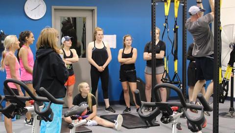 Team training Midget A