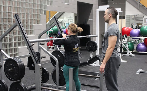 Personal training with Tom 3