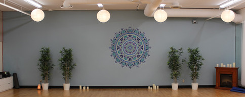 Studio 1 Instructor wall
