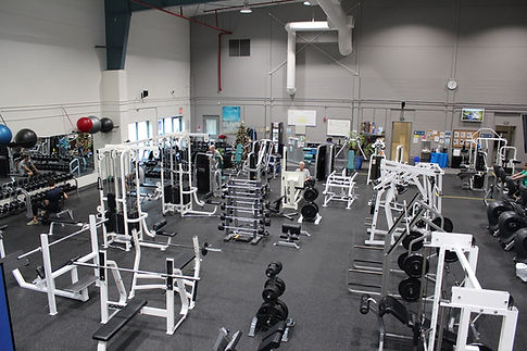Strength training area