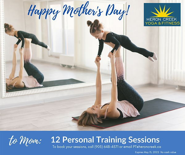 Gift Cert MOTHER'S day PT 12 sessions.pn