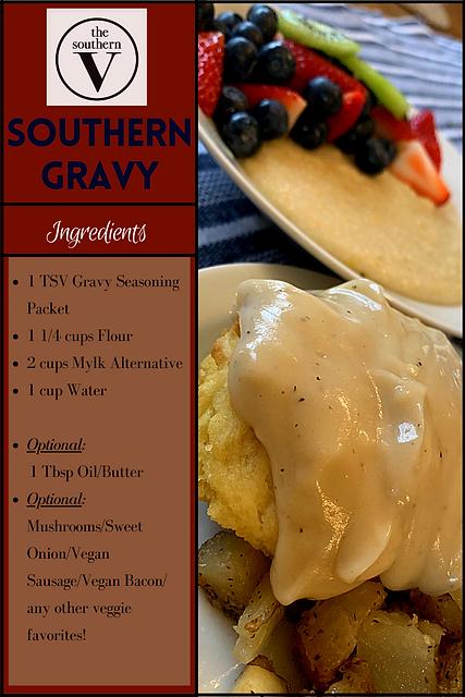 The Southern V Gravy Recipe 1