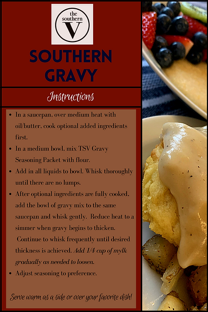 The Southern V Gravy Recipe 2