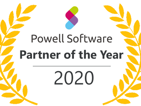 Cloud for Work, Winner of Powell Partner of the Year Award