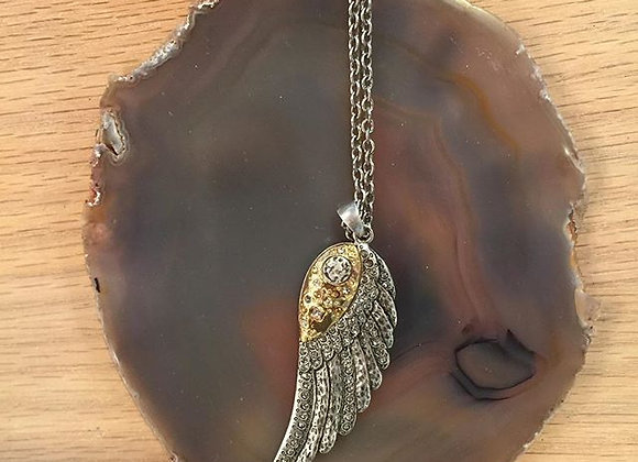 Feather Necklace by Tat2