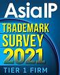 Asia IP Trademark Survey 2021 logo - Tie