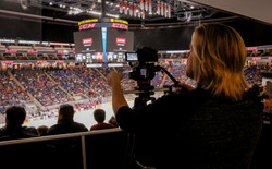 Filming the Top Prospects Game