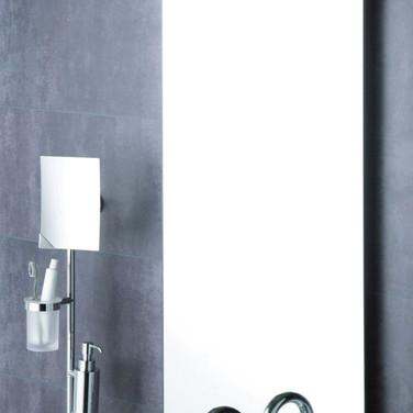 Stenska ogledala za kopalnice.