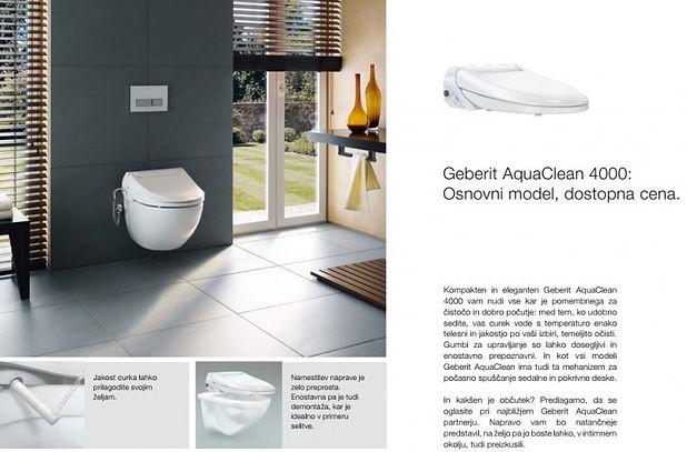 Geberit AquaClean 4000