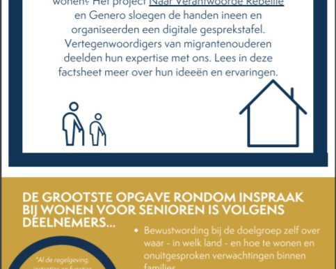 Inspraak bij wonen voor senioren met een migratie-achtergrond