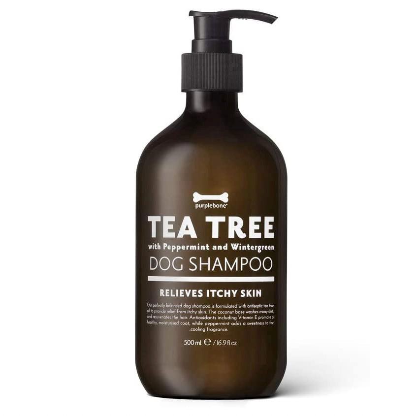 Tea Tree dog shampoo for itchy skin and coat