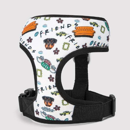 Custom friends dog harness