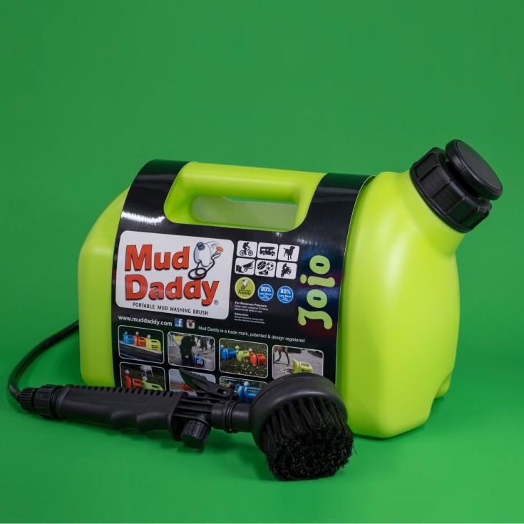 5l green mud daddy portable dog shower