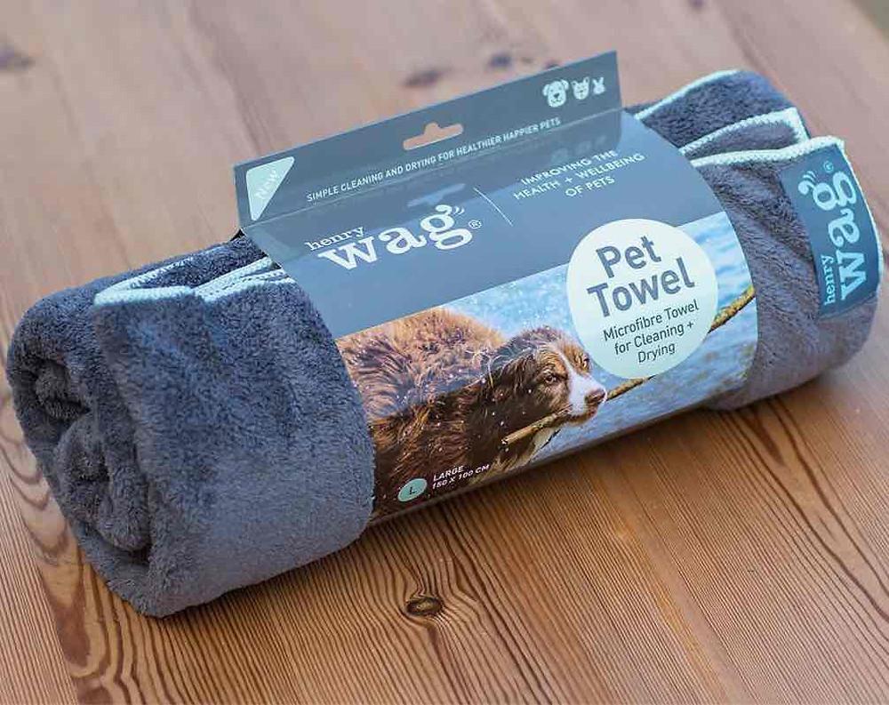 Henry Wag dog towel
