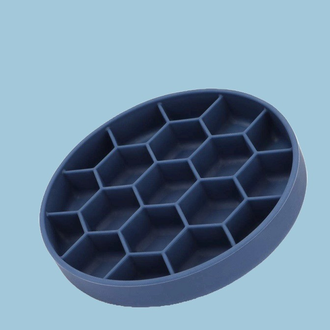 Honeycomb design slow feeder bowl for dogs