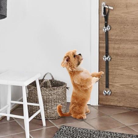 Puppy doorbells for toilet training