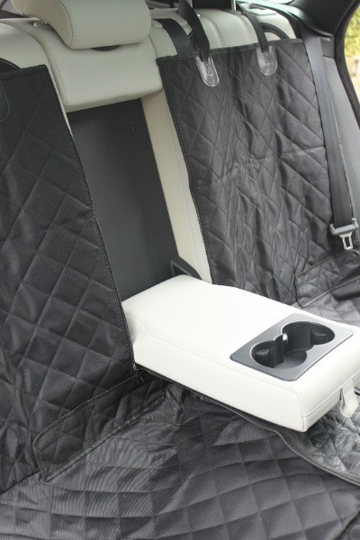 Amzpet dog car seat cover with armrest