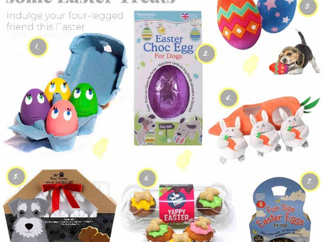 Adorable Easter Dog Treats and Toys