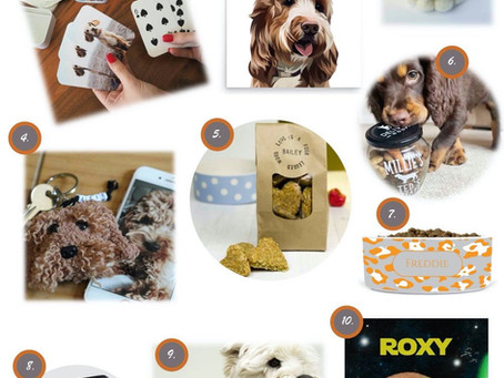 Top 10 Personalised Dog Gifts