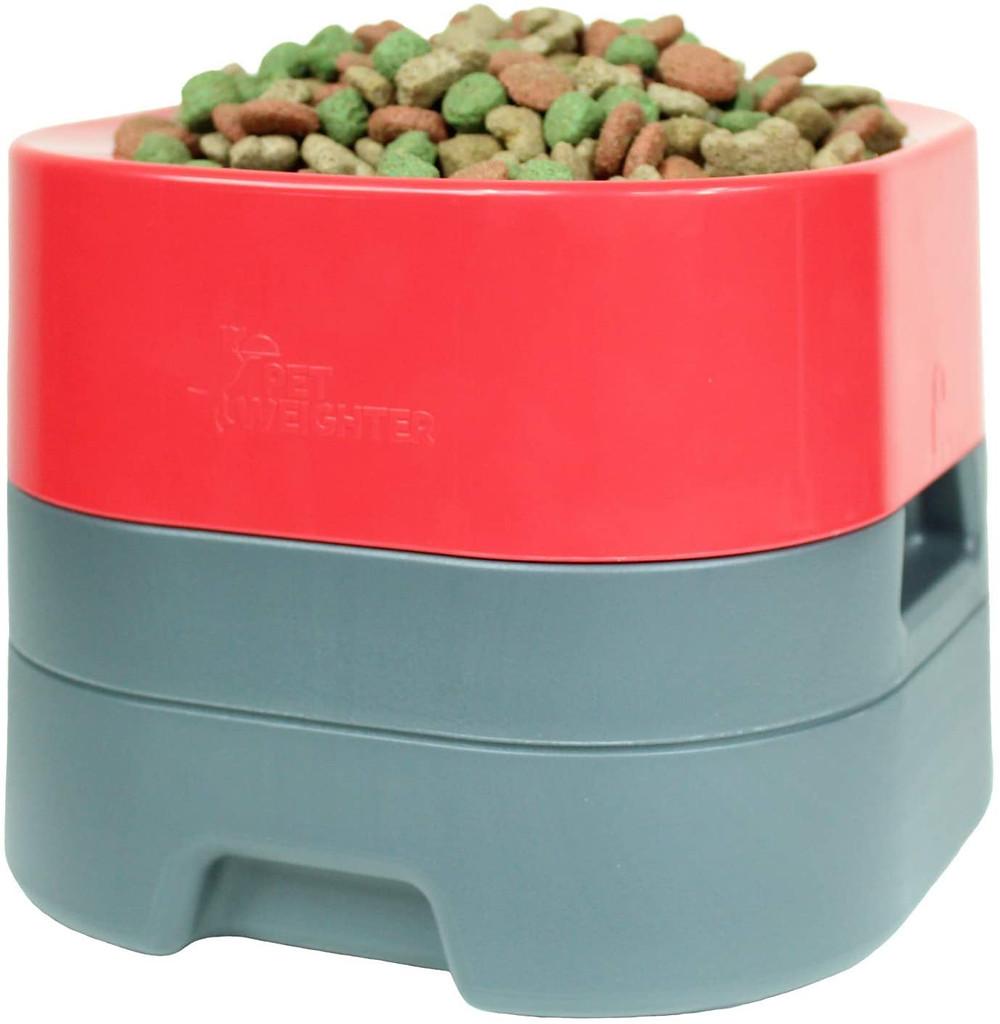 petweighter raised dog bowl