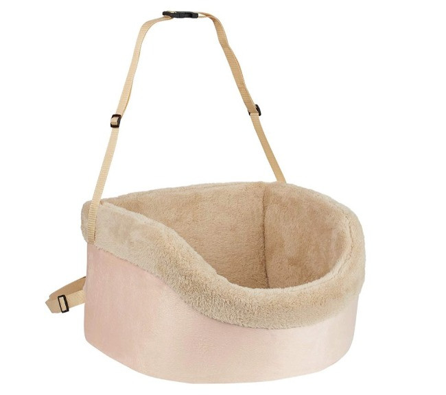 Me & My pets pink and cream dog seat booster