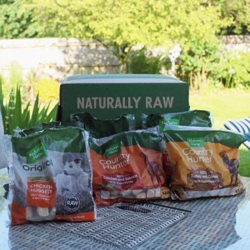 natures menu original raw dog food
