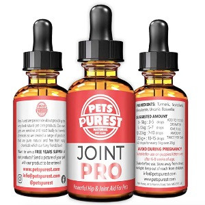 Pets Purest Joint Pro dog supplements