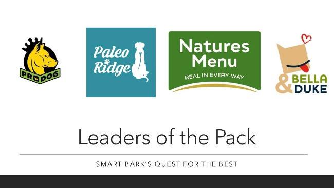 Raw dog food supplier logos