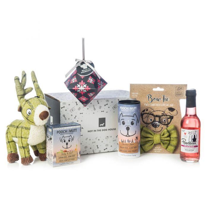 Dog Christmas Gift Box