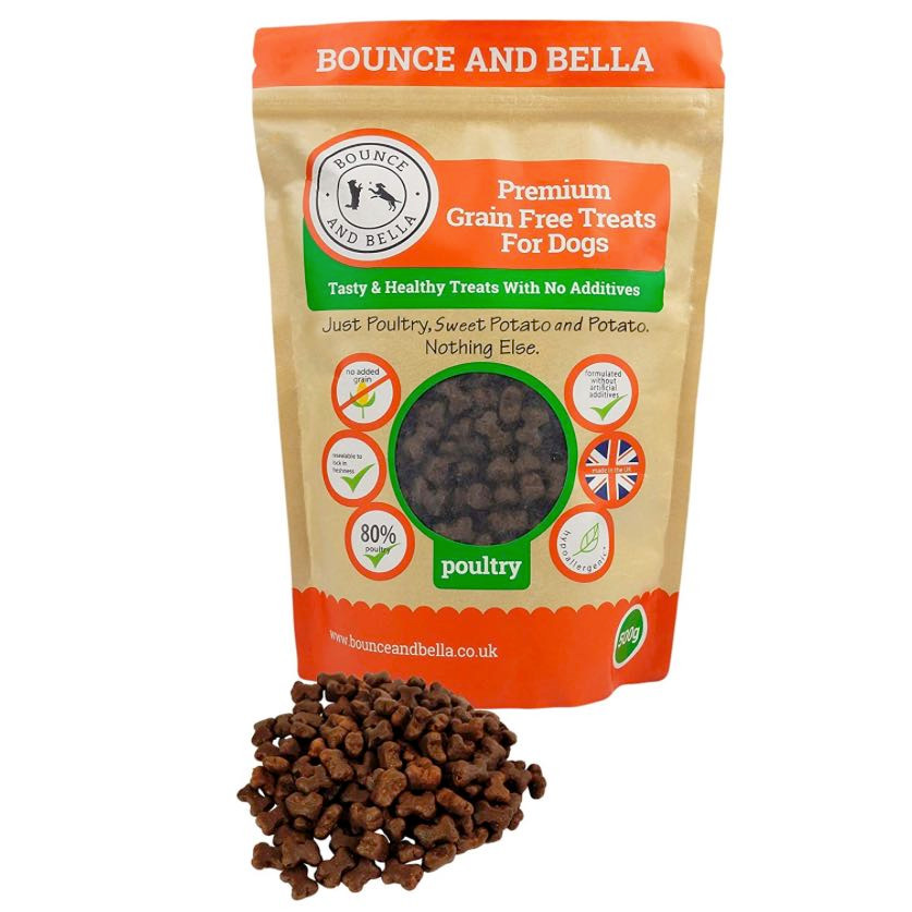 Bounce and Bella puppy treats