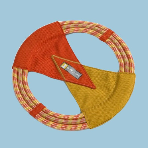Ruffwear's pacific ring rope toy for dogs