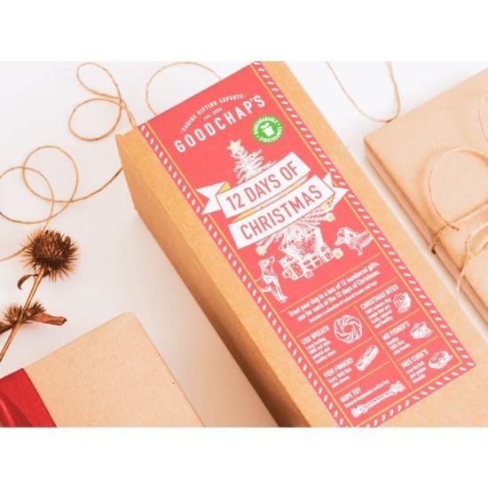 Goodchaps christmas dog treat box