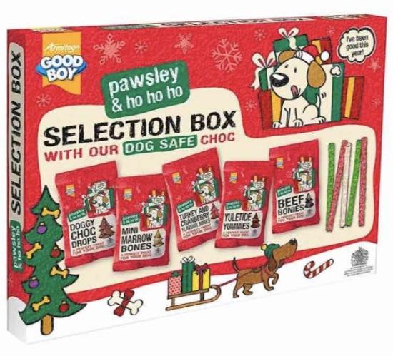 Festive Dog Selection Box
