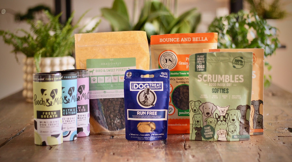 A selection of five puppy training treats reviewed