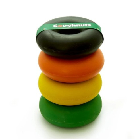 Goughnut tough dog toy for chewers