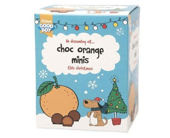 Good Boy Chocolate Orange Dog Treats
