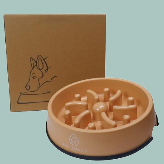 Pet Impact eco-friendly slow feeder dog bowl