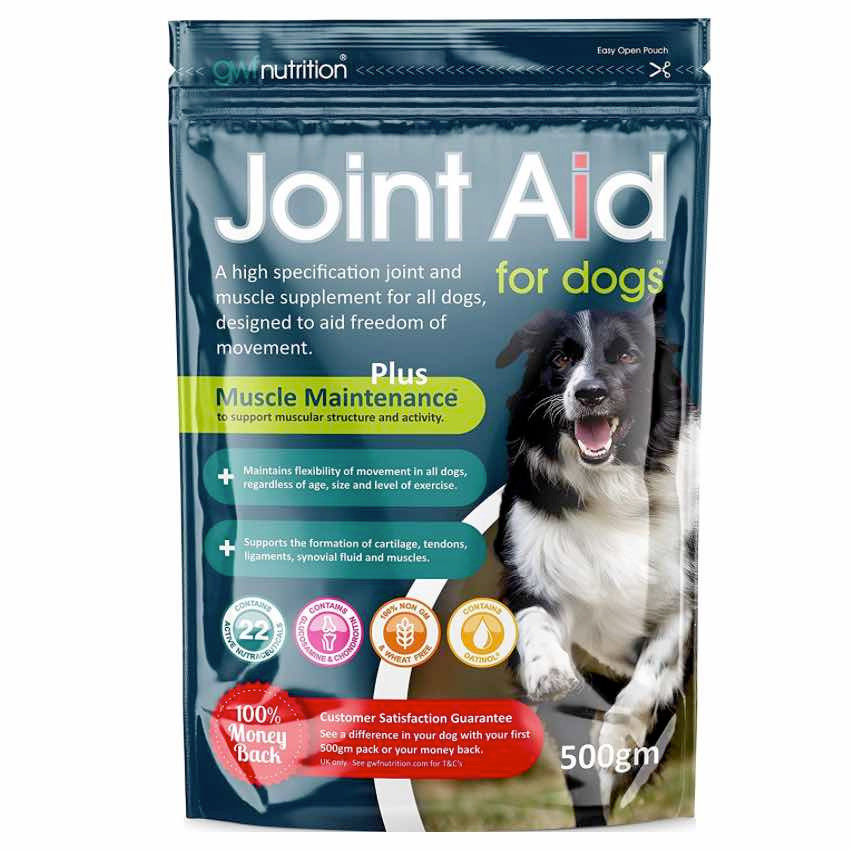 Joint aid for healthy dogs