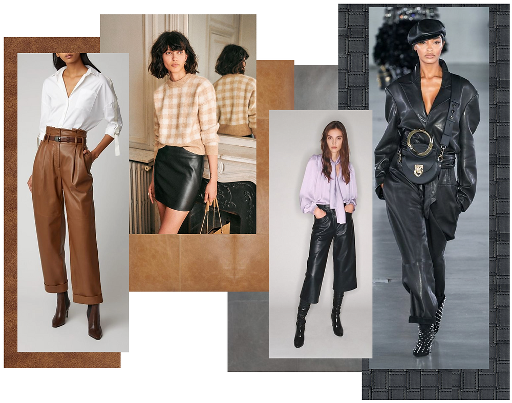 Leather fashion trend