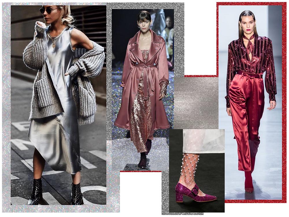 Shiny fashion trend