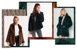 Faux fur fashion trend